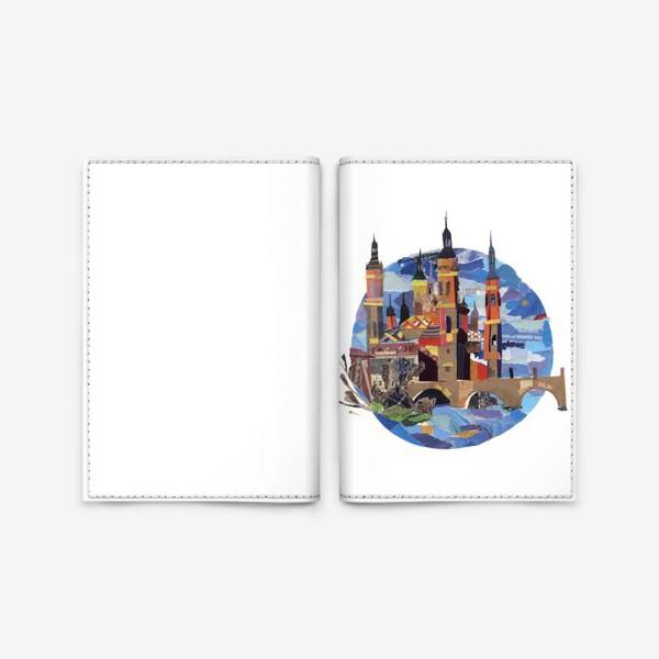 Обложка для паспорта «Испанский пейзаж»