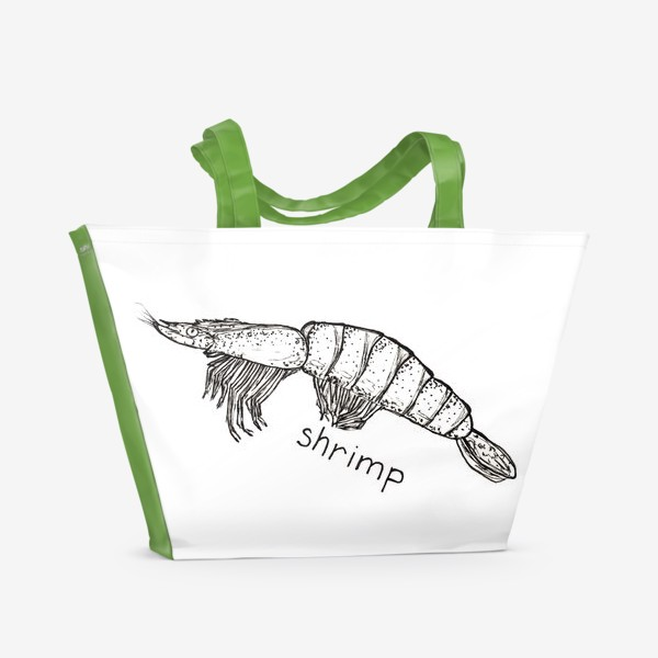 Пляжная сумка «Shrimp»