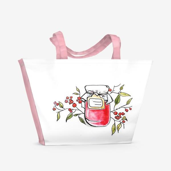 Пляжная сумка «Банка варенья»