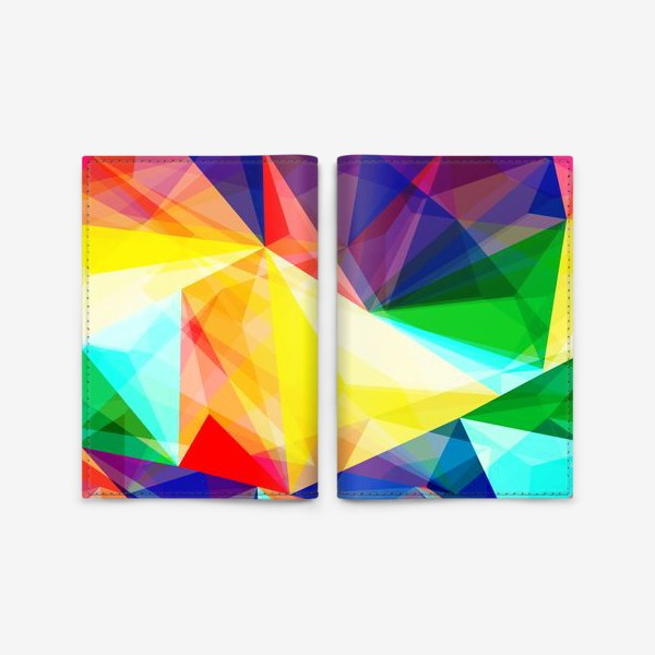 Обложка для паспорта «Абстракция»