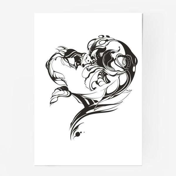 Постер «Лилия и роза»