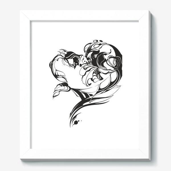Картина «Лилия и роза»