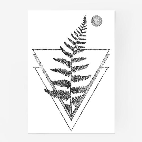 Постер «Fern and Moon»