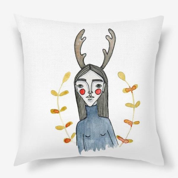 Подушка «Dear deer»