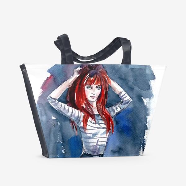 Пляжная сумка «Рыжая»