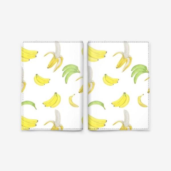 Обложка для паспорта «Бананы»