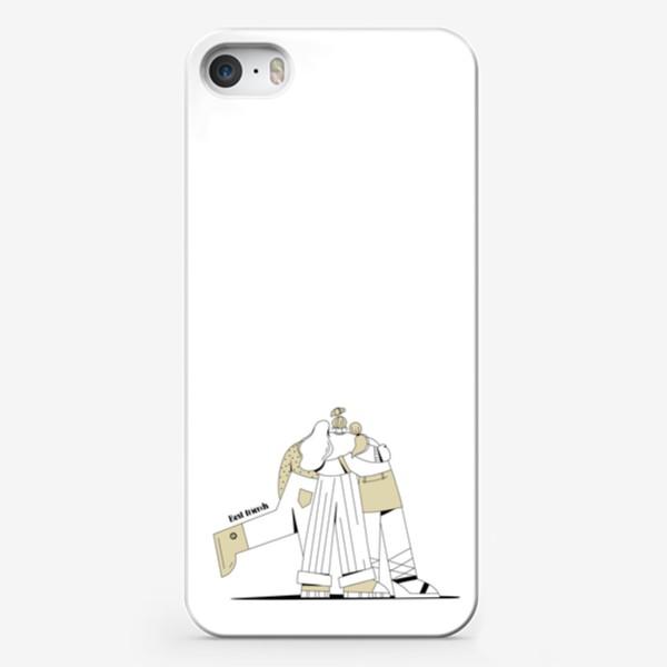 Чехол iPhone «Best friends »