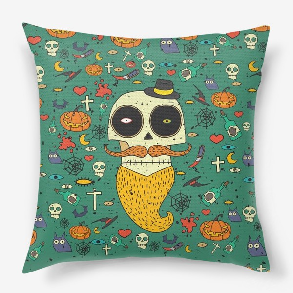 Подушка «Fashion skull»