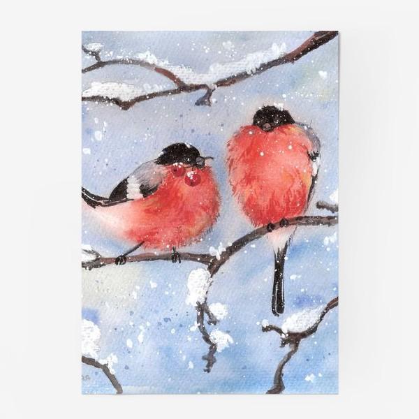 Постер «Снегири»