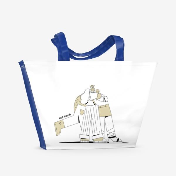 Пляжная сумка «Best friends »