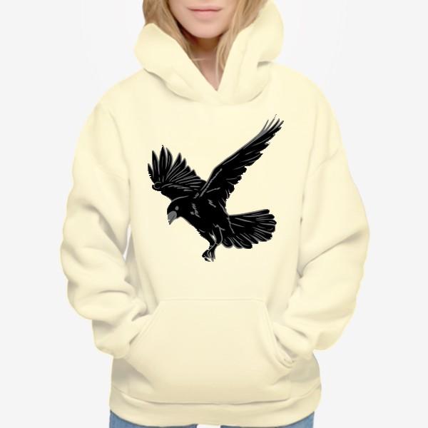 Худи «Черная ворона»