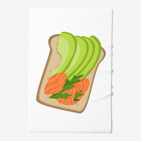 Полотенце «Бутерброд с семгой и авокадо»