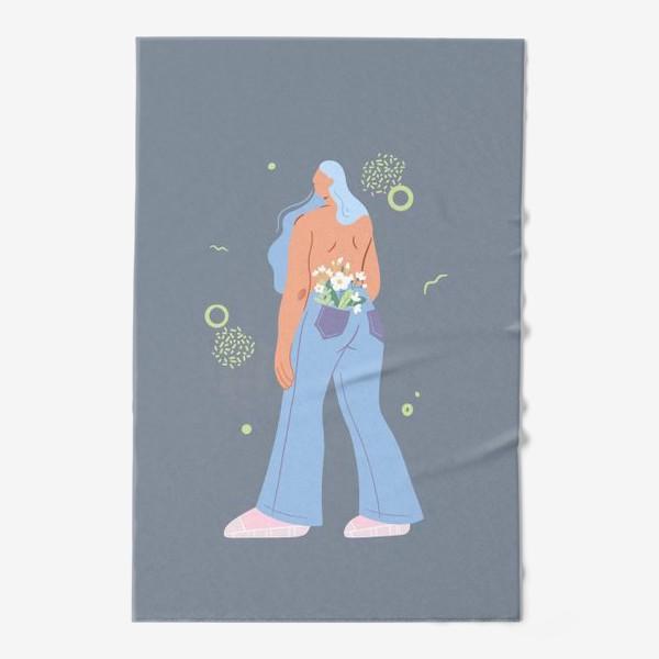 Полотенце «В душе весна»