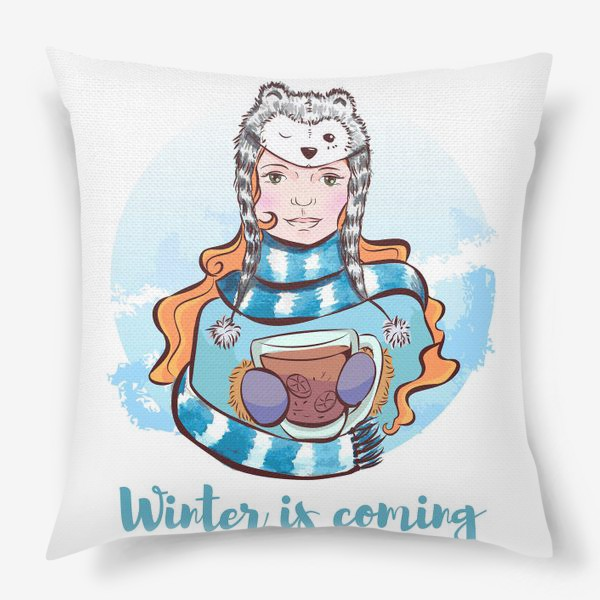 Подушка «Winter is coming »