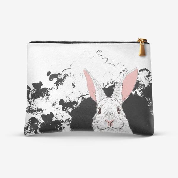 Косметичка «Следуй за белым кроликом»
