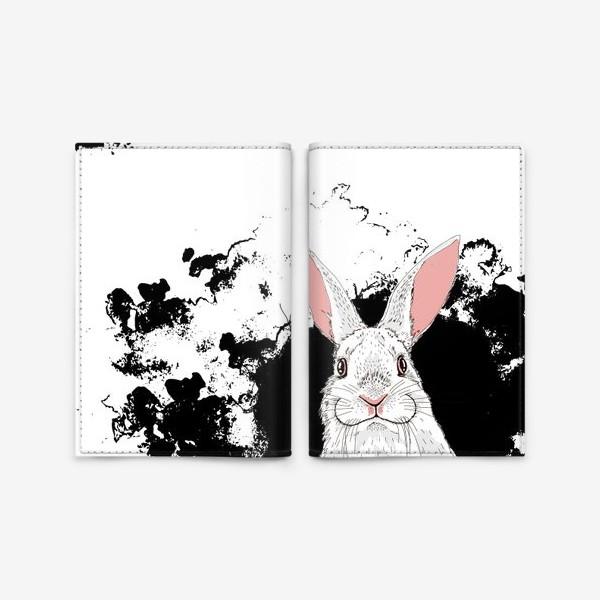 Обложка для паспорта «Следуй за белым кроликом»