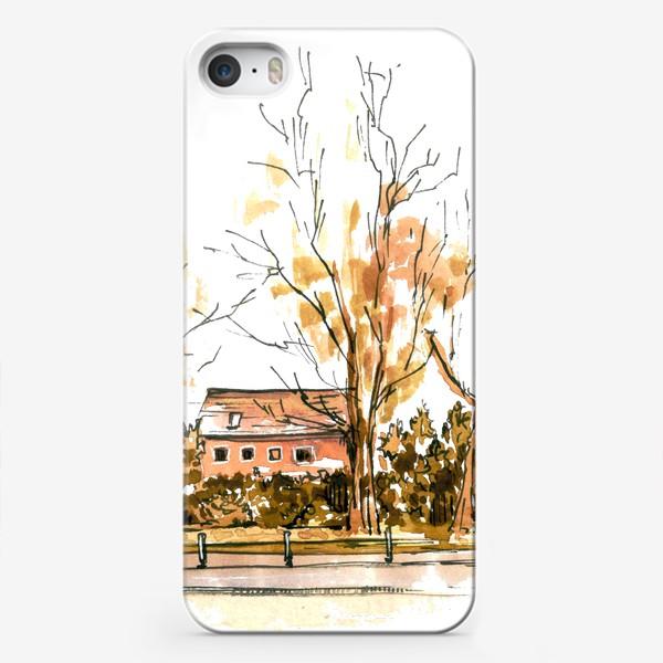 Чехол iPhone «Autumn street»