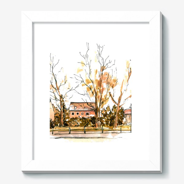 Картина «Autumn street»