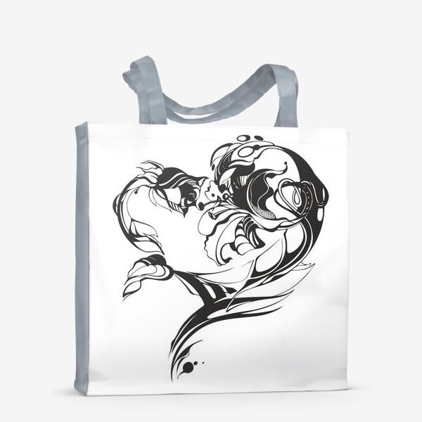 Сумка-шоппер «Лилия и роза»
