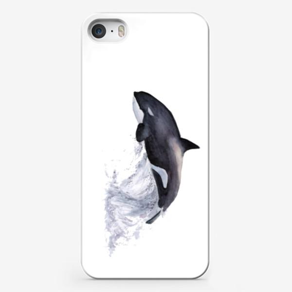 Чехол iPhone «Рыба Косатка выпрыгивает из воды»