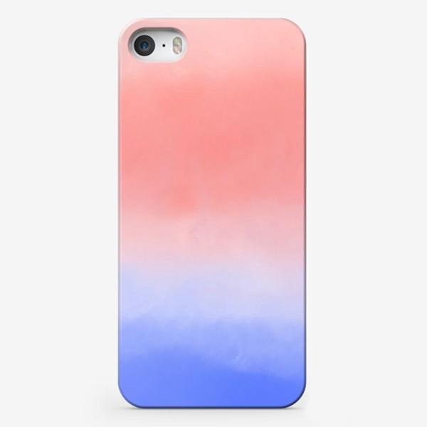 Чехол iPhone «Акварельный градиент»