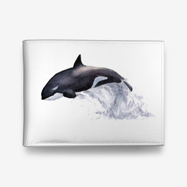 Кошелек «Рыба Косатка выпрыгивает из воды»