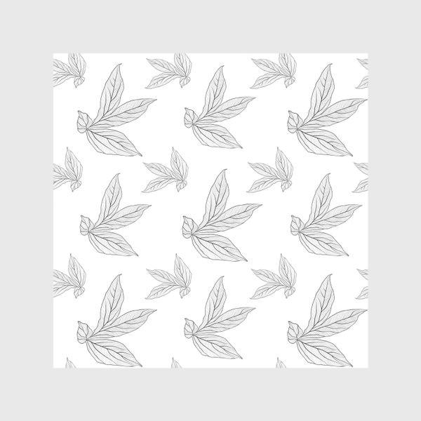 Скатерть «листья пиона »