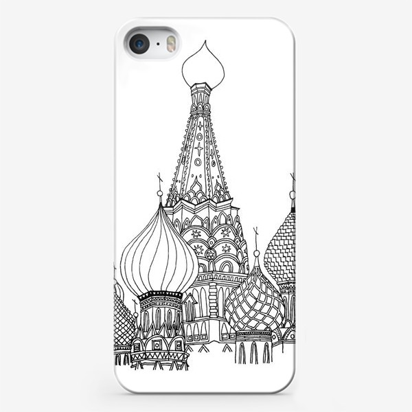 Чехол iPhone «St Basil's Cathedral»