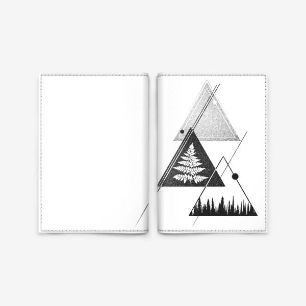 Обложка для паспорта «Forest Fern»