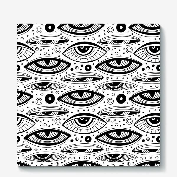 Холст «Магические глаза»