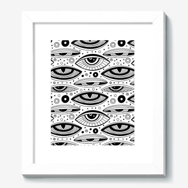 Картина «Магические глаза»