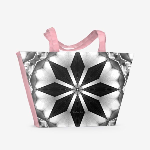 Пляжная сумка «Звёздная мандала»