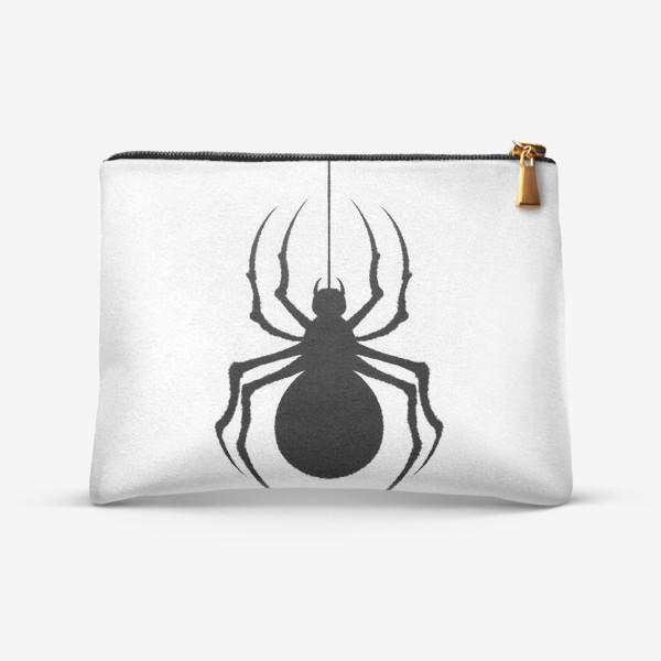 Косметичка «Чёрный паук»