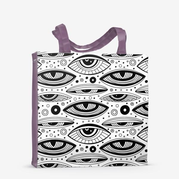 Сумка-шоппер «Магические глаза»