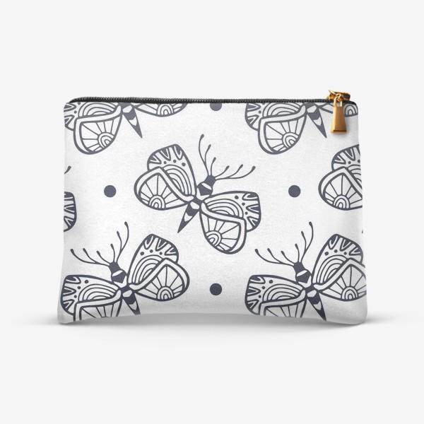 Косметичка «Милые бабочки»