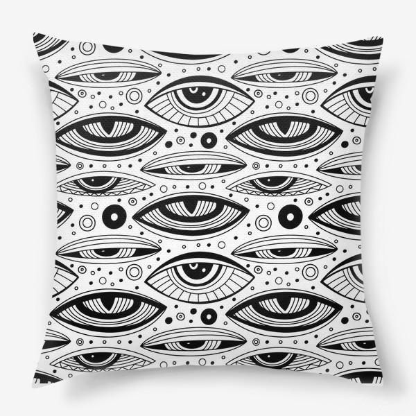 Подушка «Магические глаза»