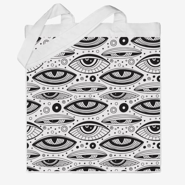 Сумка хб «Магические глаза»