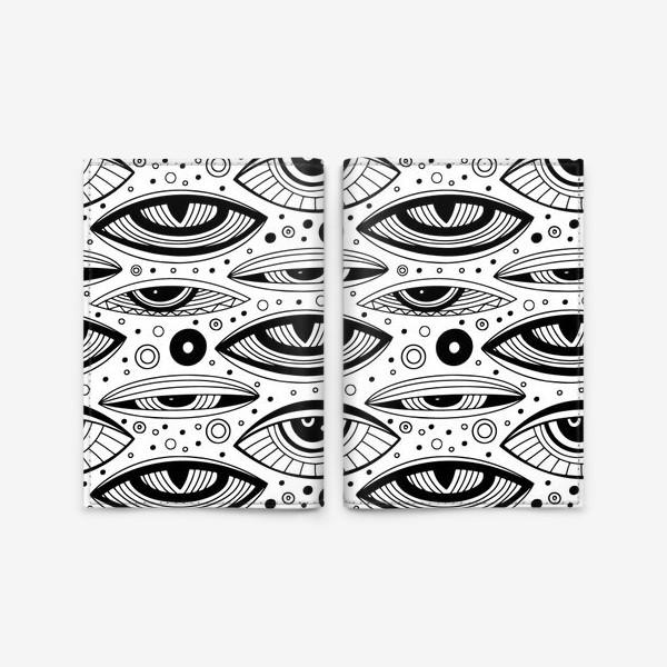 Обложка для паспорта «Магические глаза»