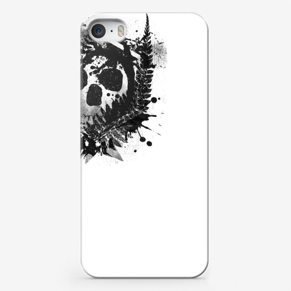 Чехол iPhone «Fern and Skull»