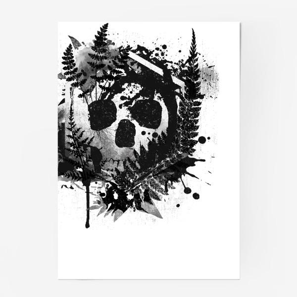 Постер «Fern and Skull»