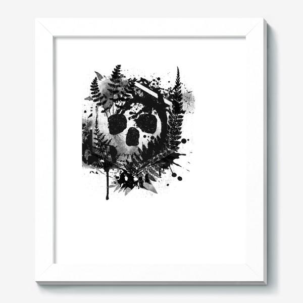 Картина «Fern and Skull»