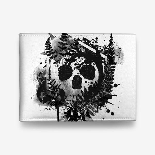 Кошелек «Fern and Skull»