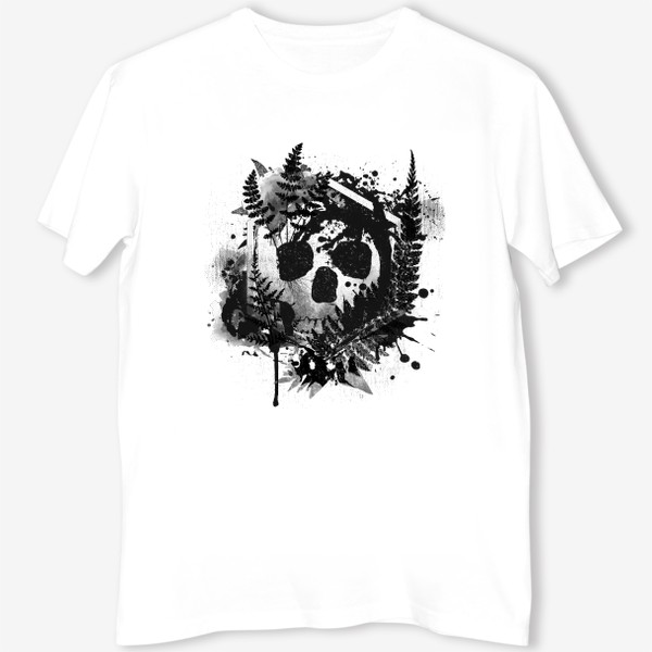 Футболка «Fern and Skull»