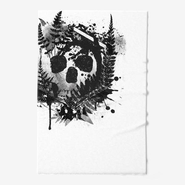 Полотенце «Fern and Skull»