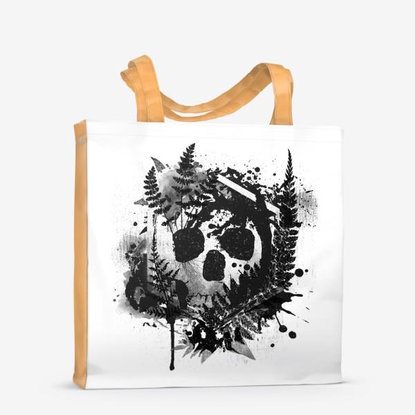 Сумка-шоппер «Fern and Skull»