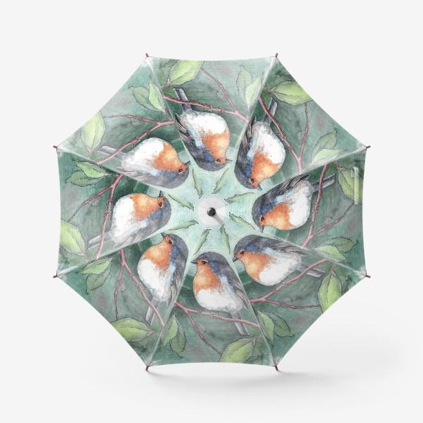 Зонт «Птичка»