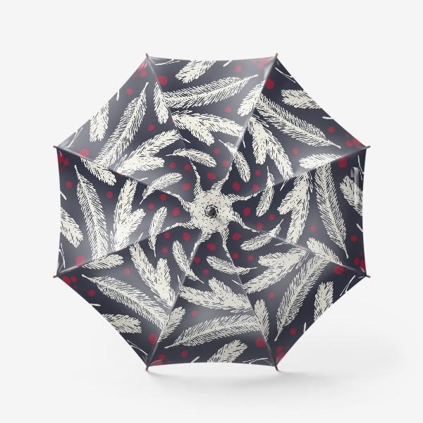 Зонт «Белое рождество»