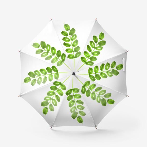 Зонт «Зеленая веточка»