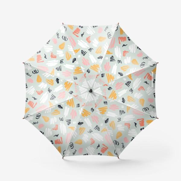 Зонт «Каракули разноцветные»