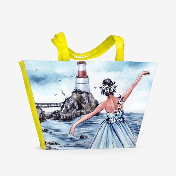 Пляжная сумка «танцуй так, будто на тебя никто не смотрит»